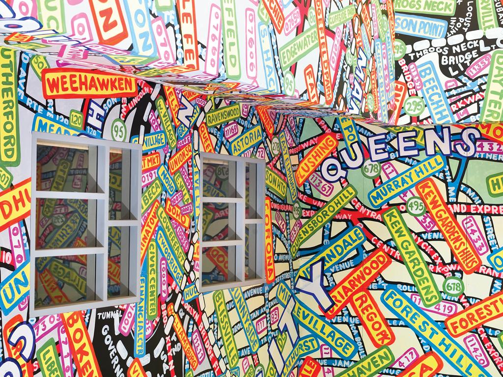 Paula scher mural design indaba for Cn mural designs
