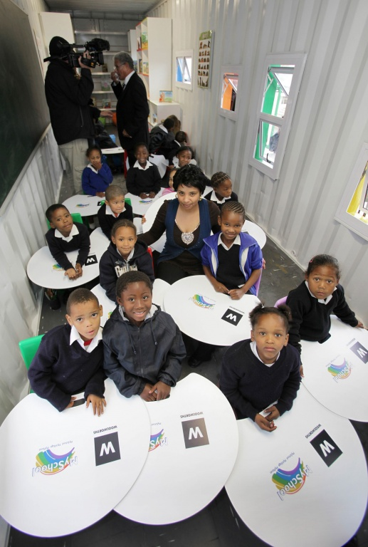 From sea to school design indaba - Vissershok primary school shipping container classroom ...