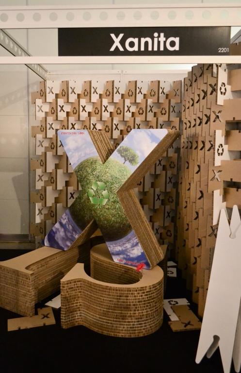 Xanita Exhibition Stand : X marks the spot design indaba