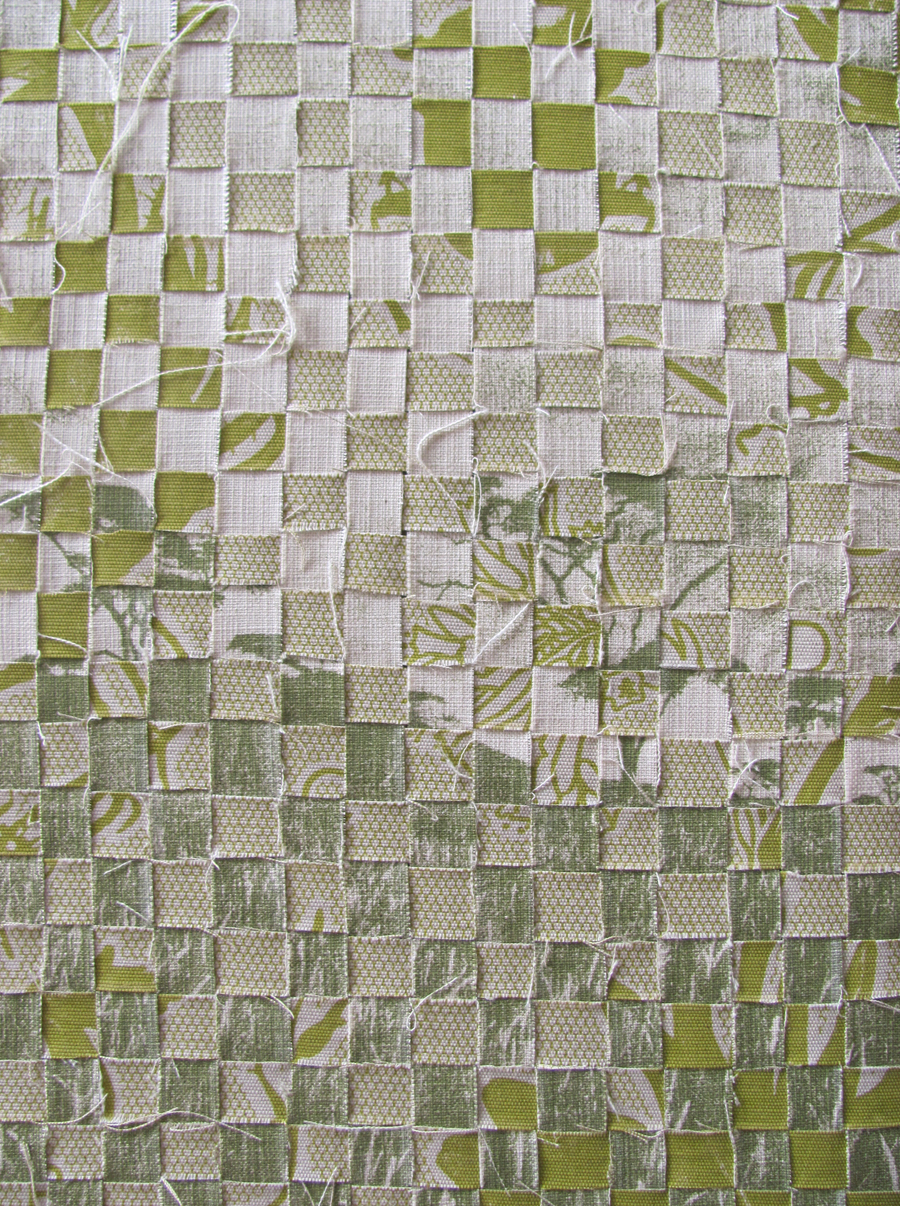 Product spotlight woven textile wall piece by for Wall piece design