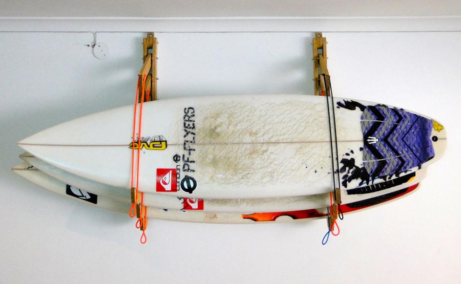 Merveilleux Surfboard Garage Storage Ideas Designs