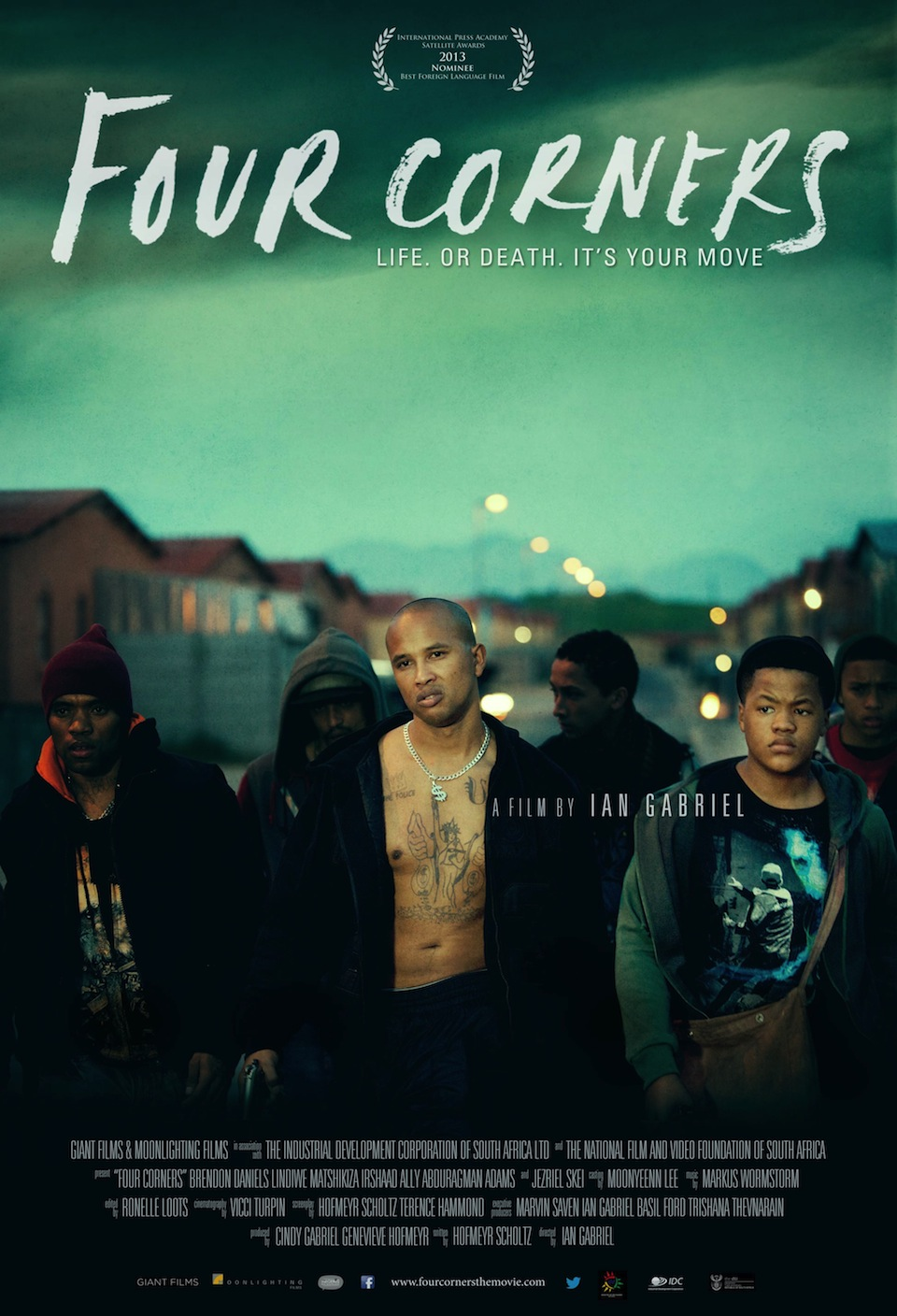 Four Corners, produced by Giant Films and directed by Ian Gabriel.