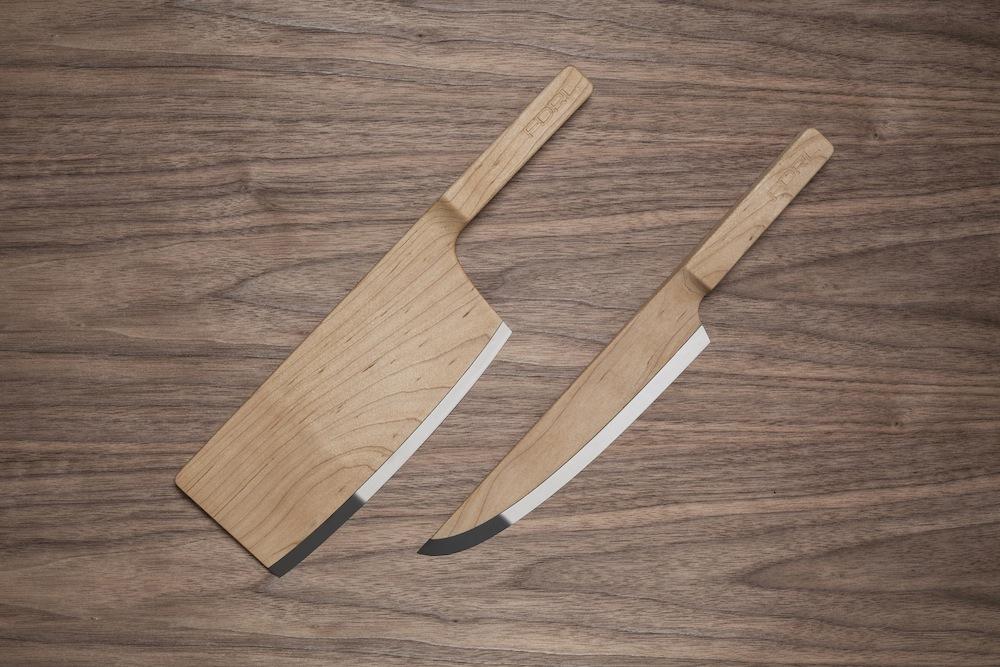Ian Murchison's Maple knives set.