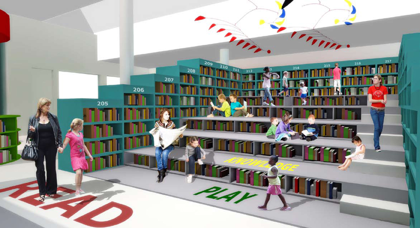 Belville Children's Library by Y Tsai.