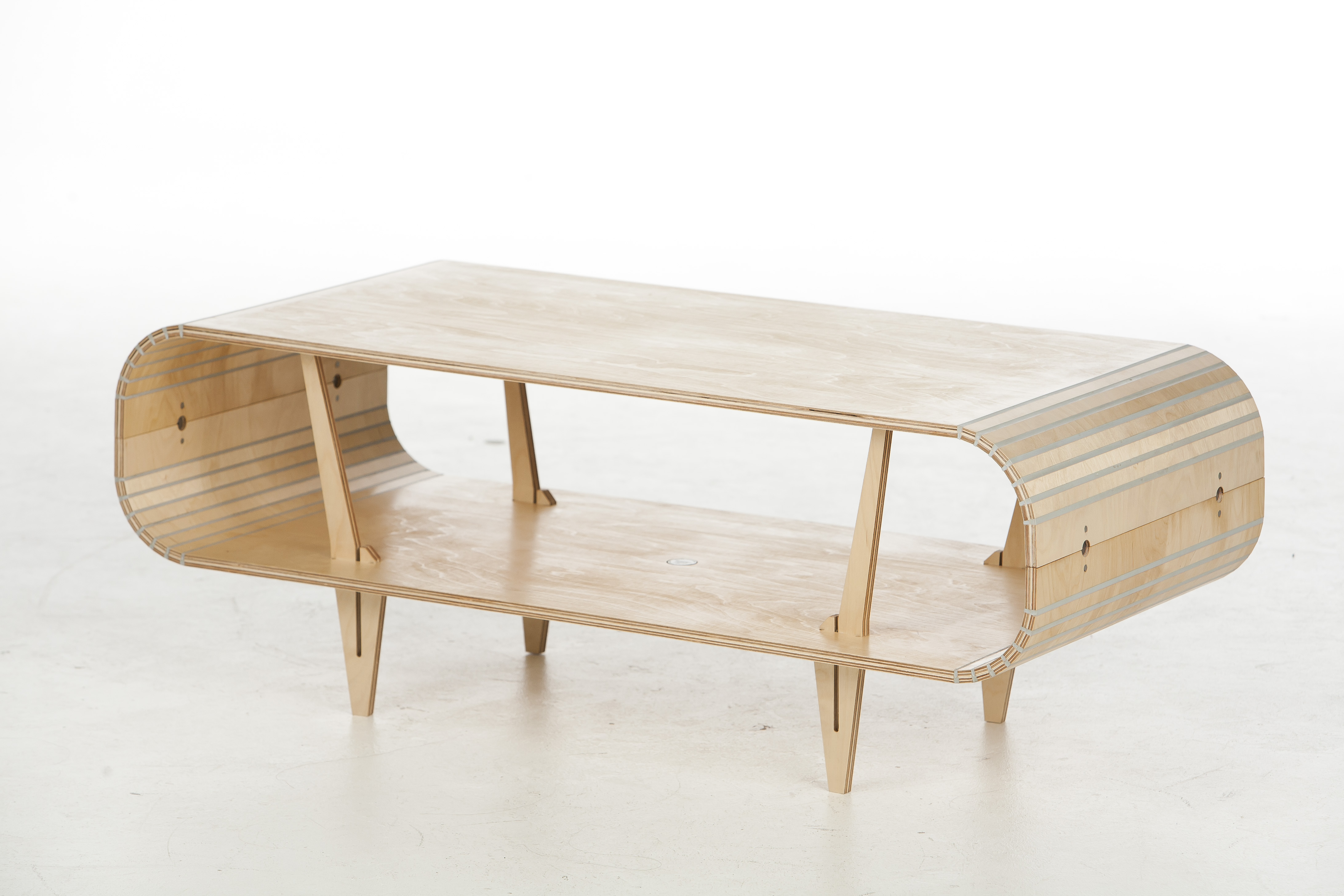 Orbit coffee table by Stratflex