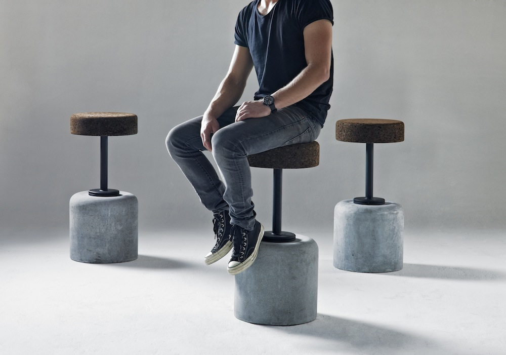 Cork Bar Stool By Wiid Design Design Indaba