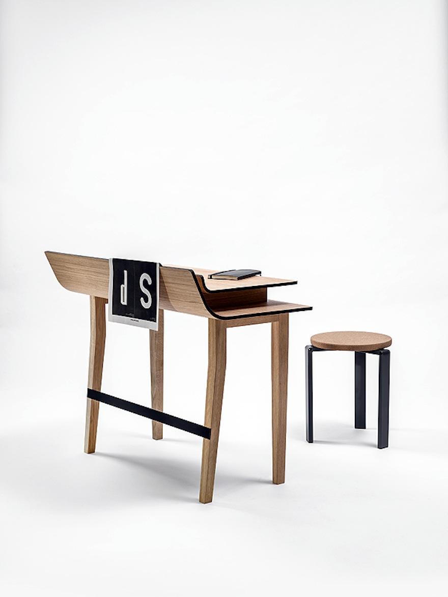 The sheets desk by lucie koldov design indaba for Table sheet design