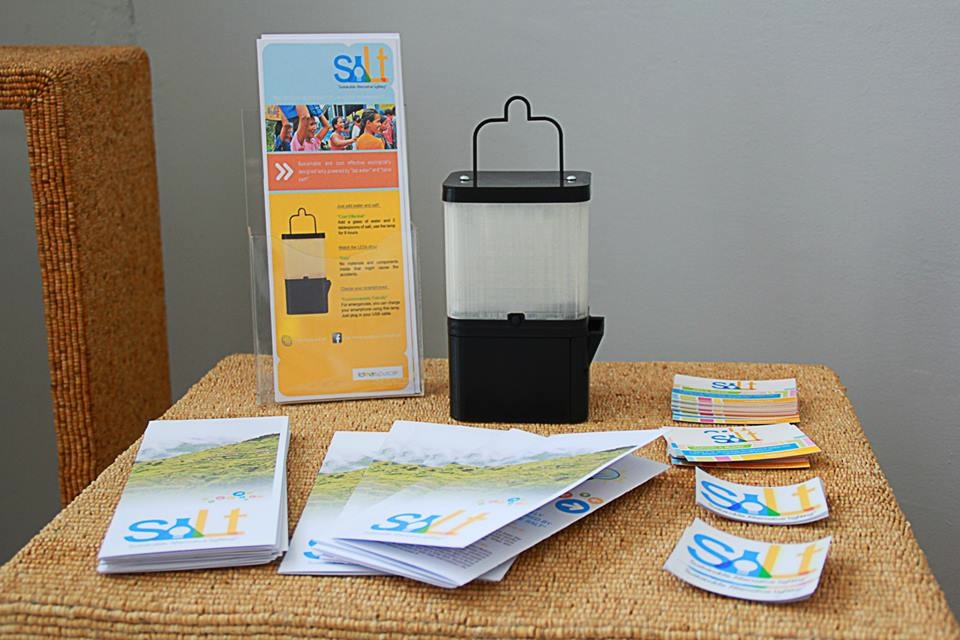 Salt Water Lamp How Does It Work : A lamp powered by salt water Design Indaba
