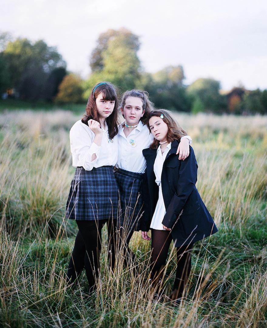 Images Of Adolescence In Francesca Allen S Quot Girls Girls