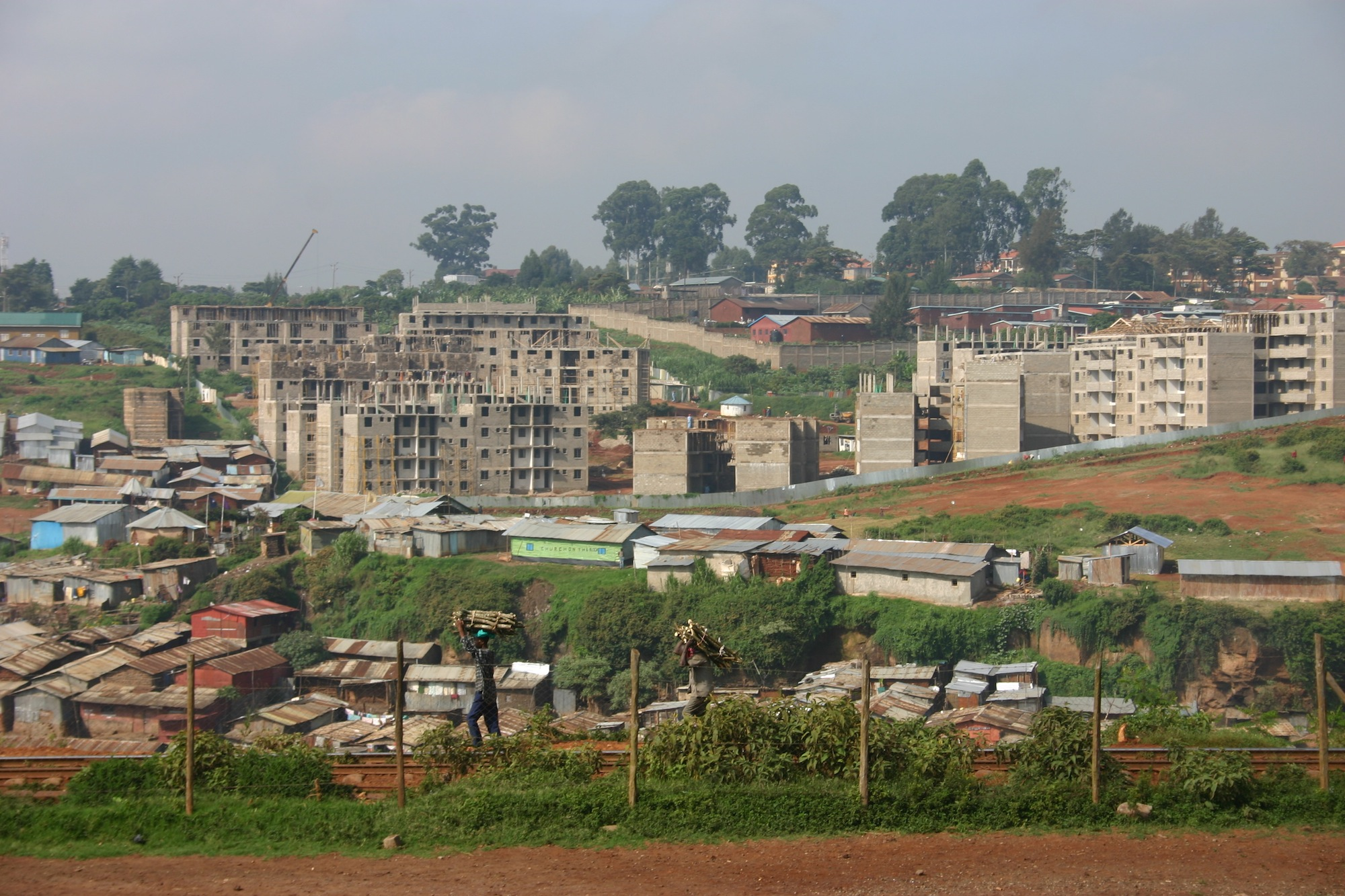 The transformation of Kibera from Africa's largest slum to promised land
