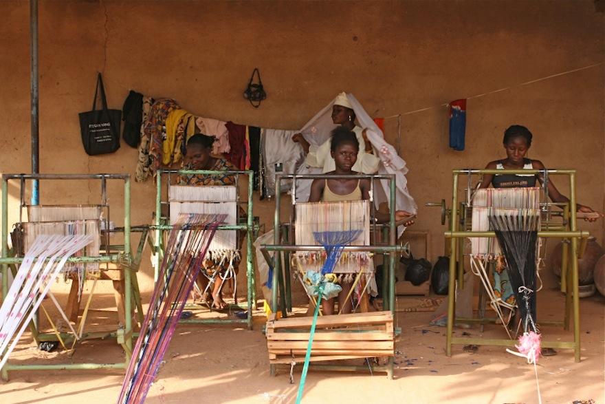 5ecf877b6e9 Embroidering African women s artisanal skills onto international runways