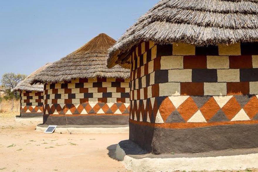 A hut decorating competition that could give urban homes a for Best house designs in zimbabwe
