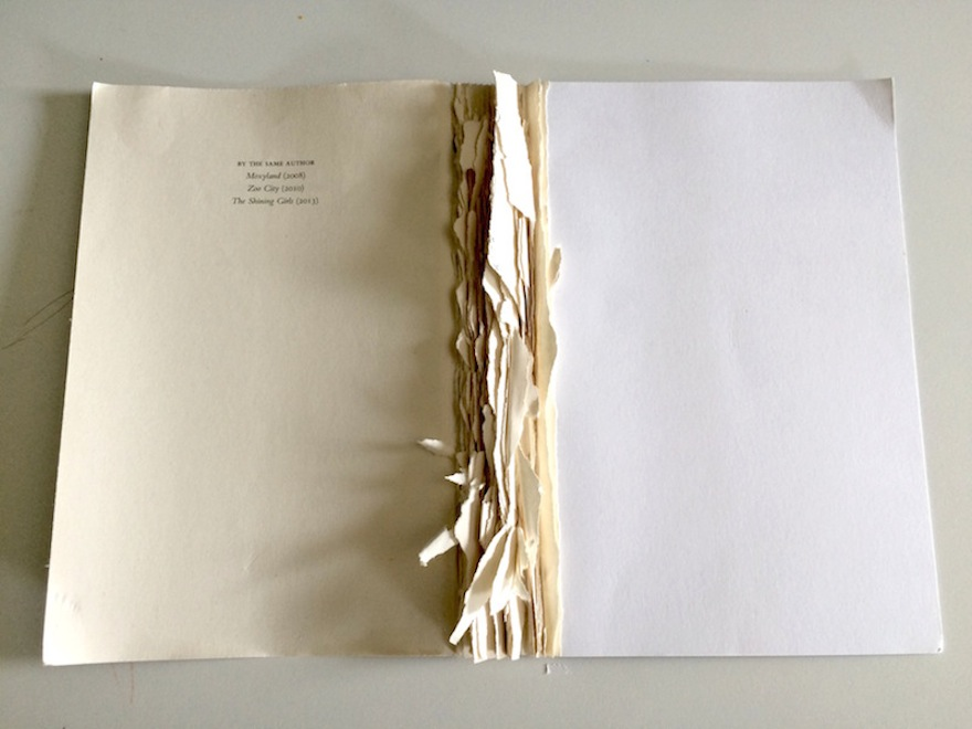 how to fix ripped book pages