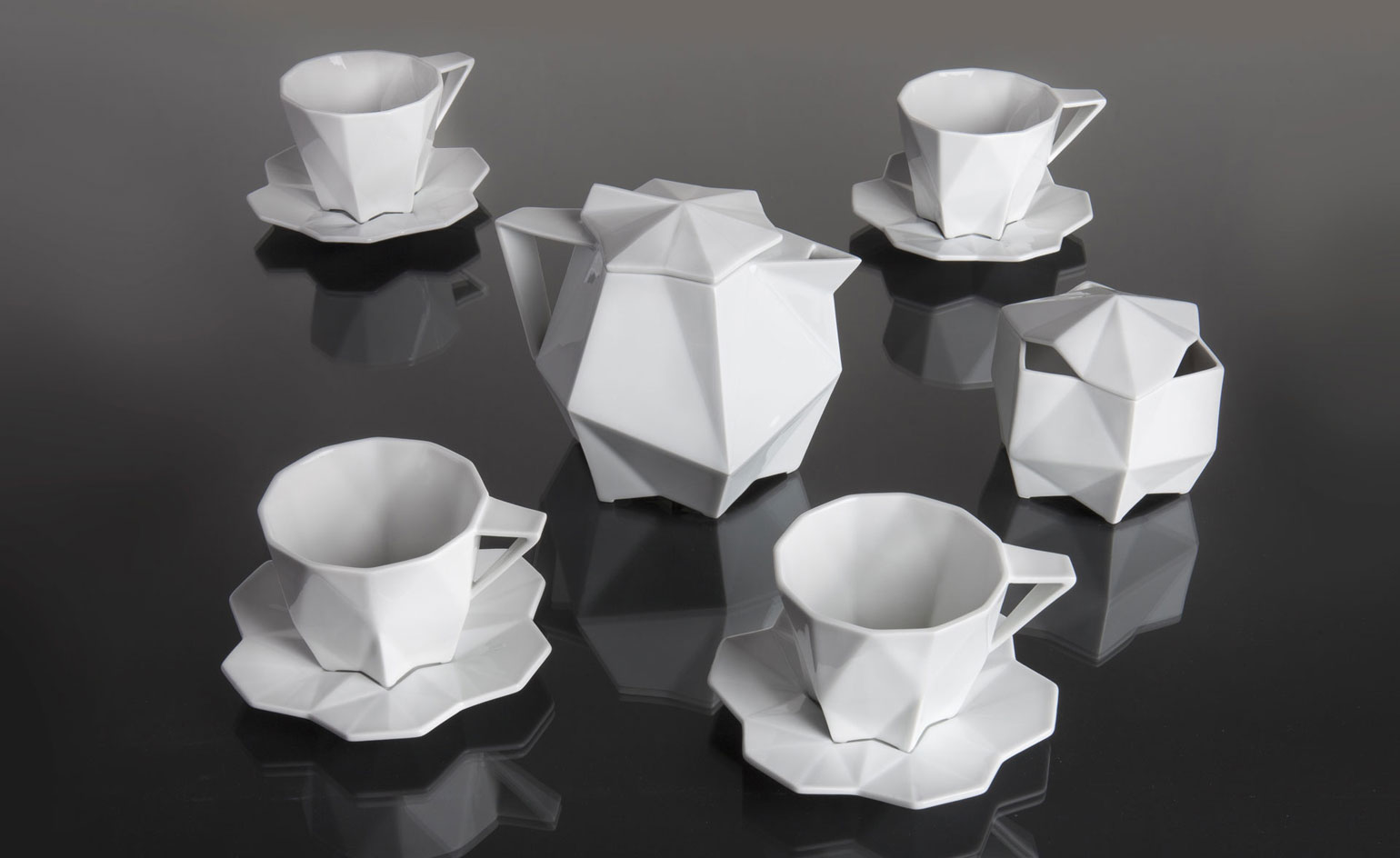 A Dinnerware Set Inspired By The Czech Cubism Design Indaba