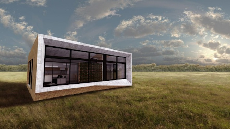 Prefabricated Positive Energy Homes By Philippe Starck And: Modular Homes That Have A Positive Impact On Their Owners