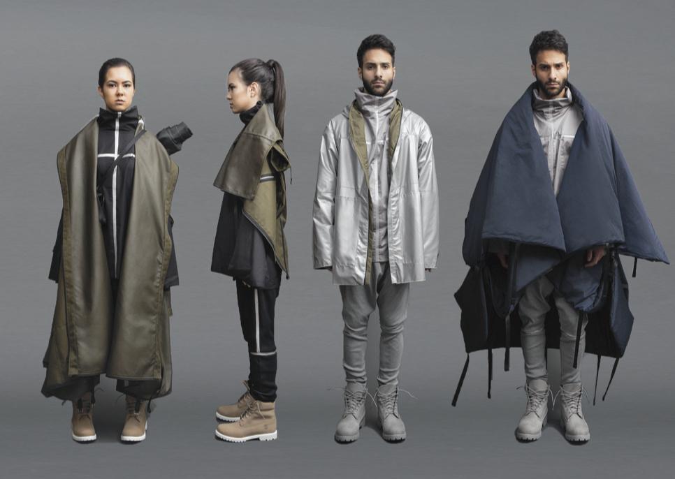 Fashion Student Designs Utilitarian Garments For Refugees