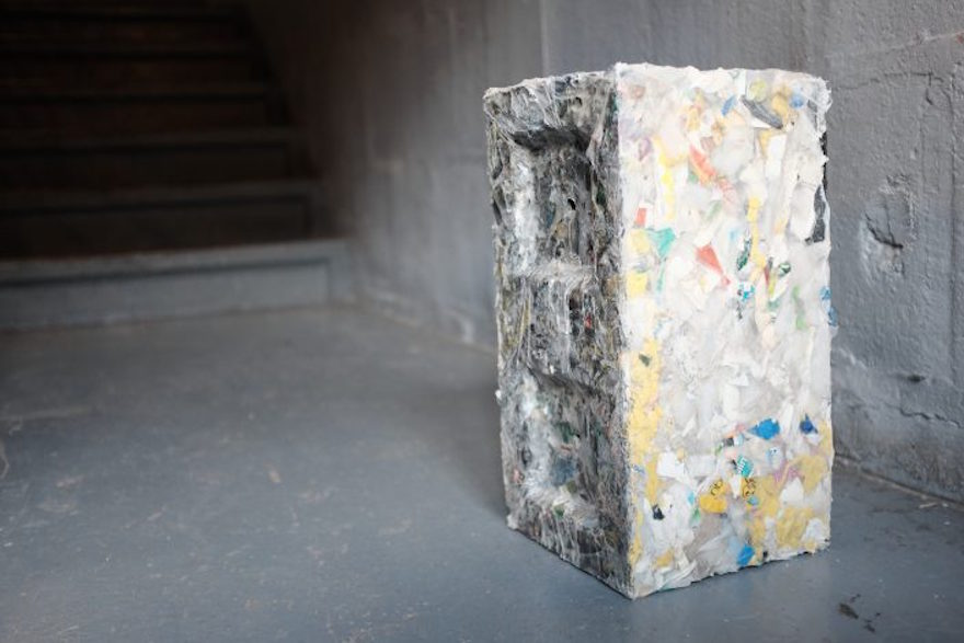 Eco Friendly Construction Blocks Made From Plastic Waste
