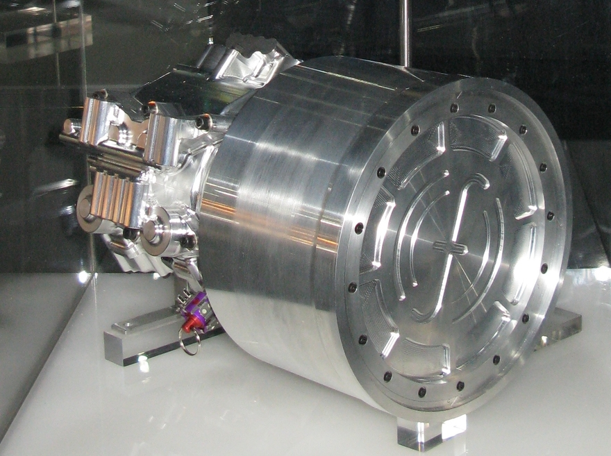 A flywheel energy recovery system built for use in Formula One