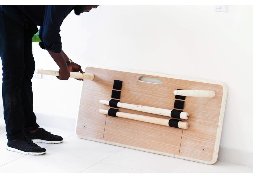 Tebur A Nigerian Made Lightweight Work Table Design Indaba