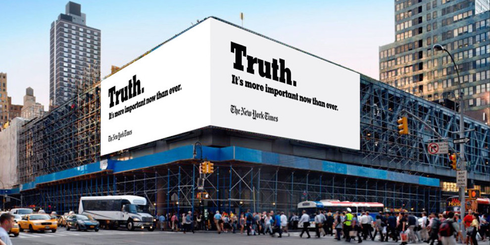 Droga5 New York Times Campaign