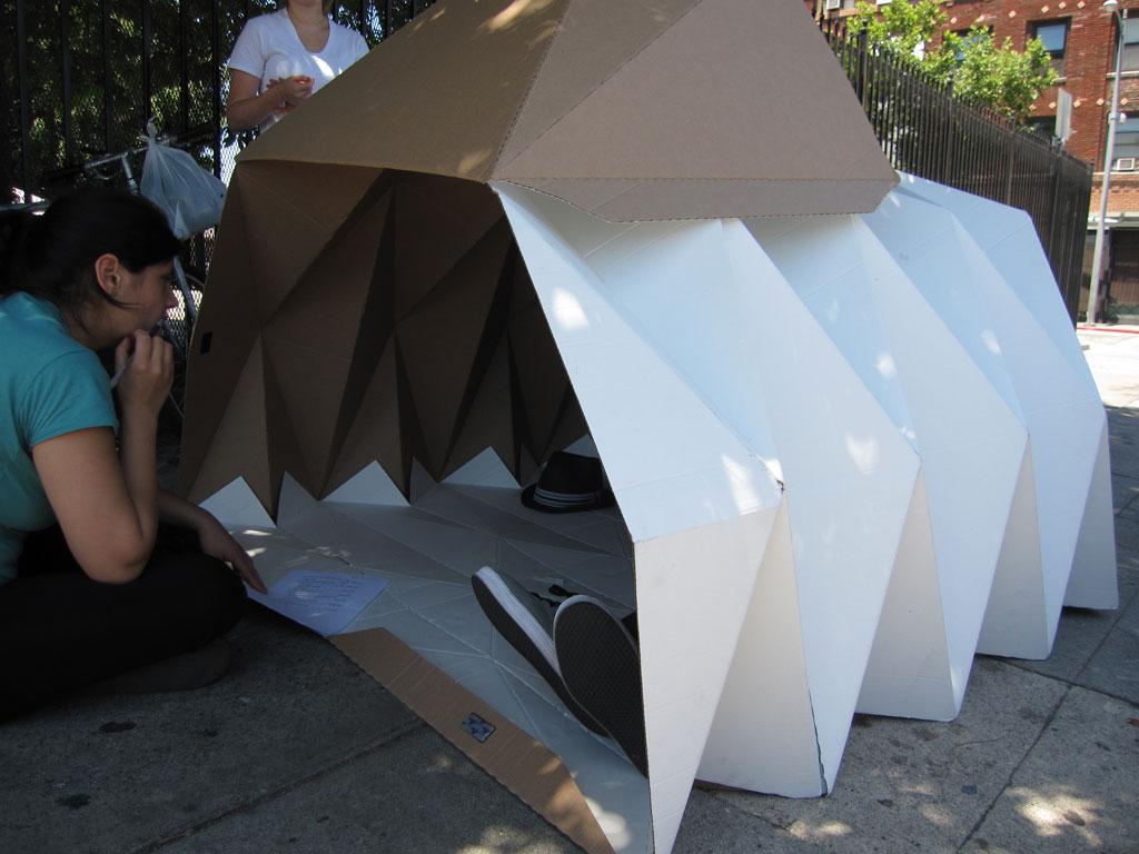 Cardboard Shelter Design Indaba
