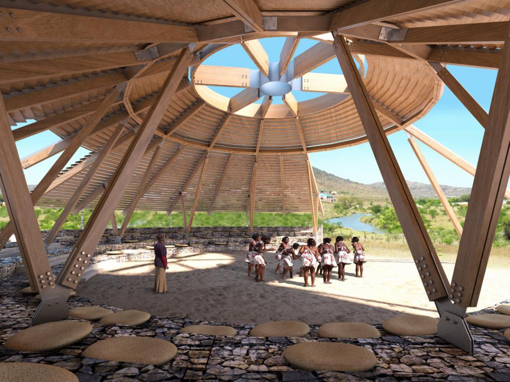 Community theatre for eastern cape design indaba - Architectural home designs in south africa ...