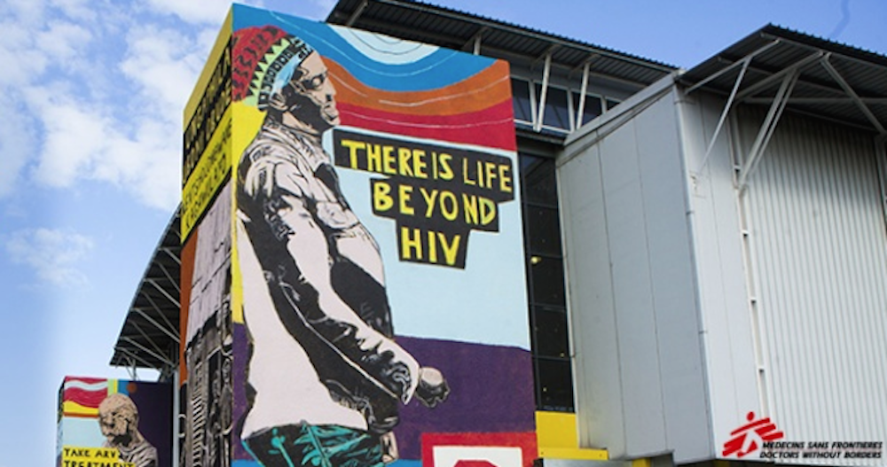 World Aids Day: The making of the #LifeBeyondHIV mural in ...