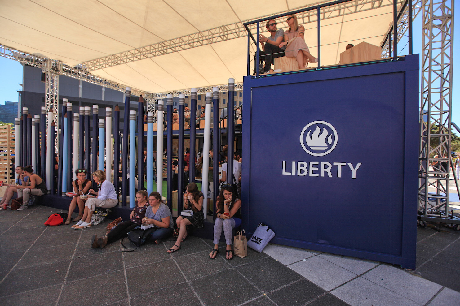 Liberty Thirst & Know Bar at Design Indaba
