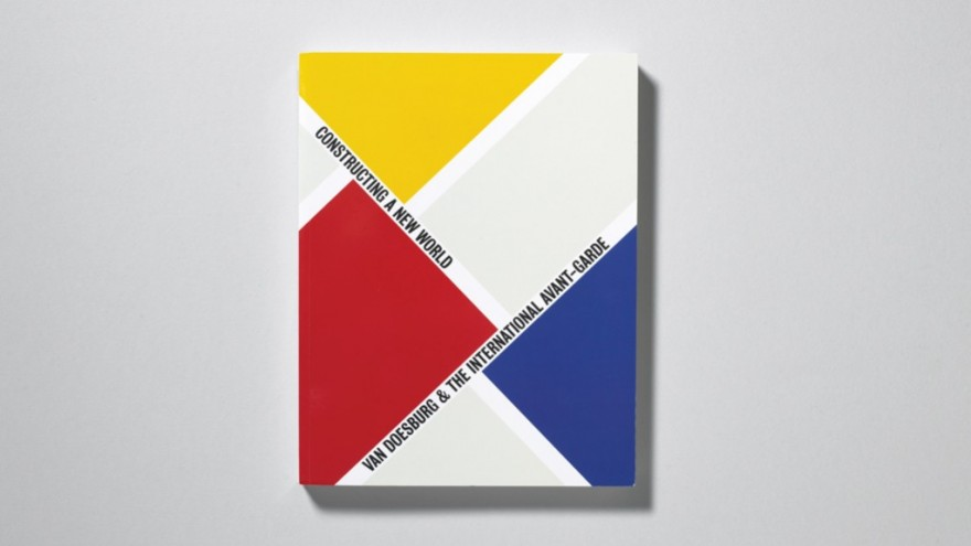 Exhibition graphics for Van Doesburg exhibition at the Tate Modern. Courtesy of