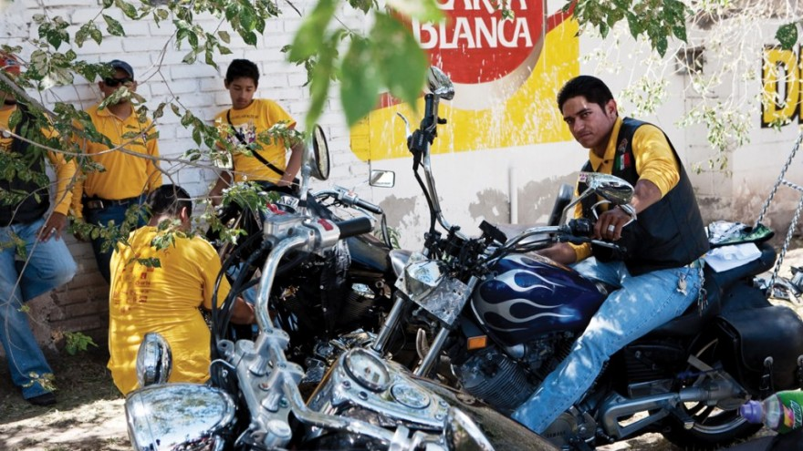 Bikers from Cuidad Juárez unite to make a stance against crime, violence and dru