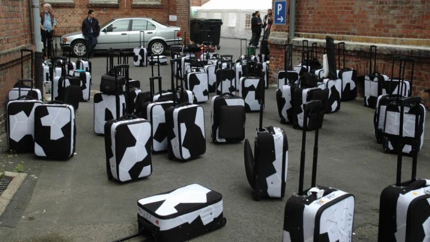 Fairytale Luggage. 2007. Photo: Ai Weiwei.