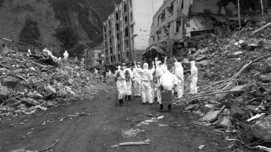 Sichuan Earthquake. 2008. Photo: Ai Weiwei.