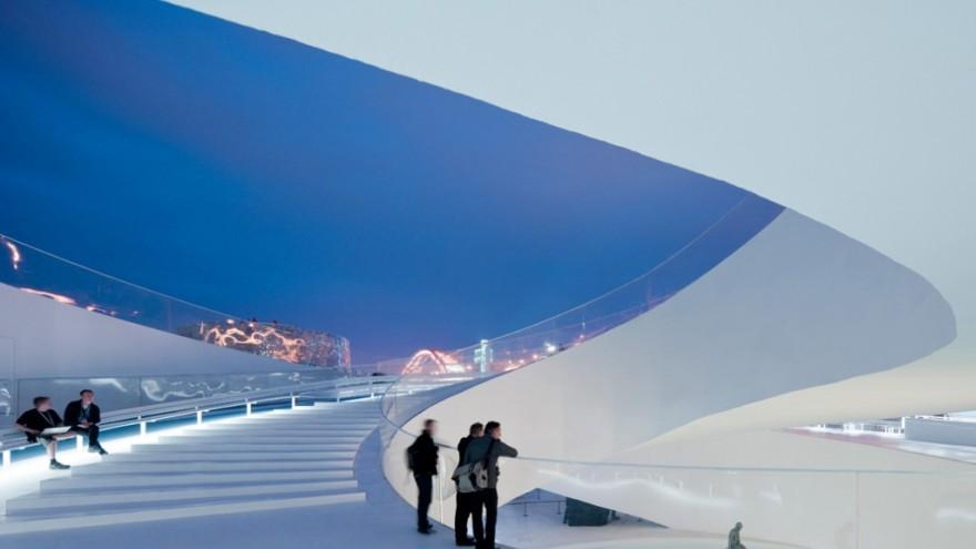 BIG Danish Pavilion at Shanghai Expo. Photo: Iwan Baan.