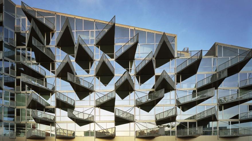 VM Houses by BIG Architects. Photo: Johan Fowelin.