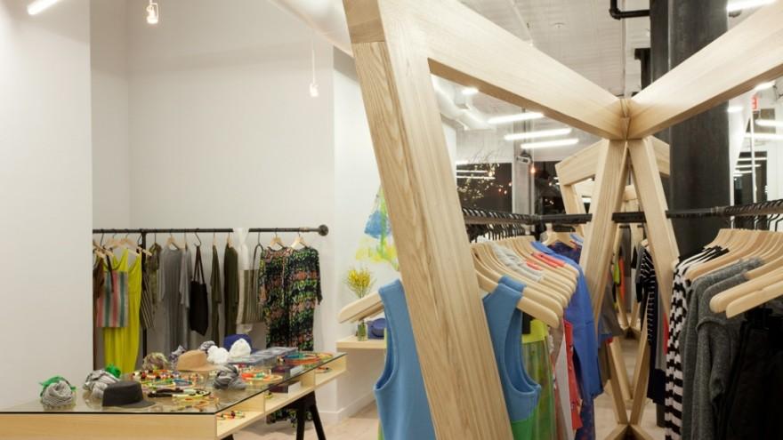 Cut25 flagship shop by Dror Benshetrit.