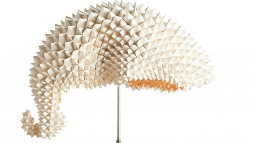 Dragon Tail Lamp by Luisa Robinson for Design By Hive.