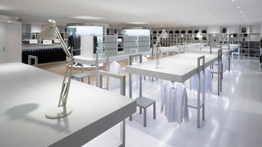 Halsuit concept shop by Nendo. Photo: Masaya Yoshimura.