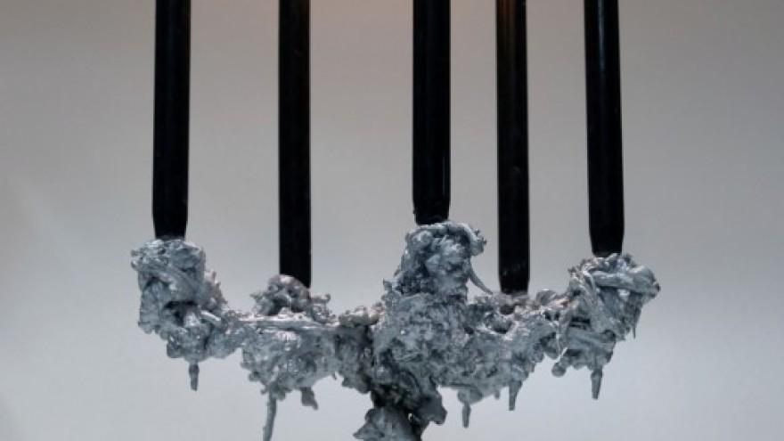 Pascal Smelik -  Kaarsrecht chandelier.