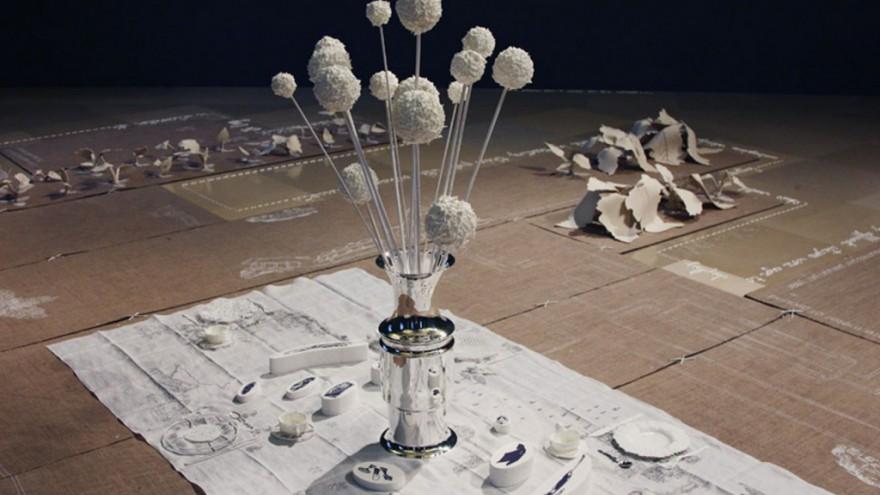 Silver Sugar Spoon by Studio Makkink & Bey. Photo via designboom.
