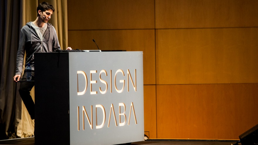 Mathieu Rivier at Design Indaba Conference 2014