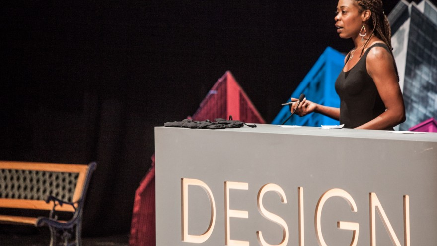 Joy Mckinney at Design Indaba Conference 2014