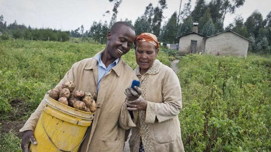 M-Farm by Jamila Abass, Linda Omwenga and Susan Eve Oguya, MFarm, Kenya.