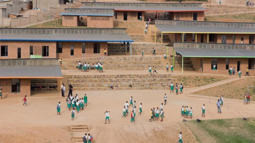 Umubano Primary School by MASS Design Group, Kigali, Rwanda.