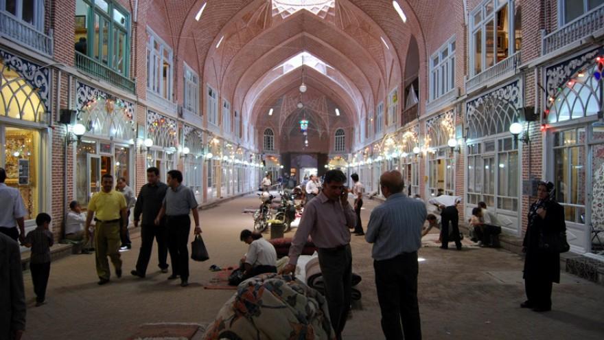 Rehabilitation of Tabriz Bazaar by ICHTO East Azerbaijan Office, Tabriz, Iran.