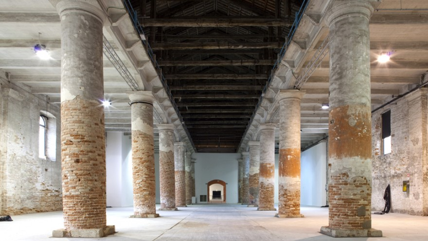 Corderie: Venice Biennale 2013.