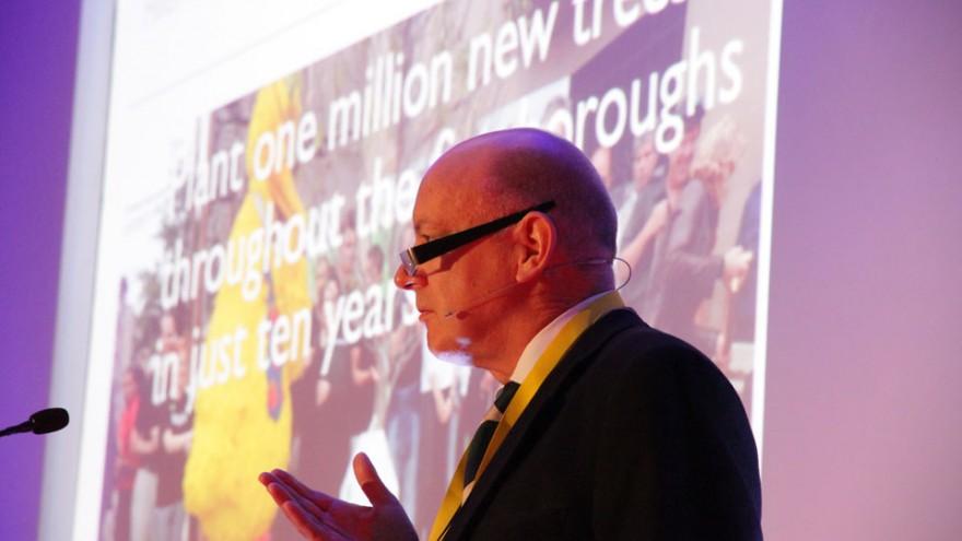 Graham Warsop at Bright Talks Cape Town.