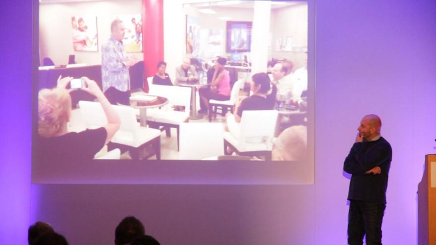 Gavin Levinsohn at Bright Talks Cape Town.