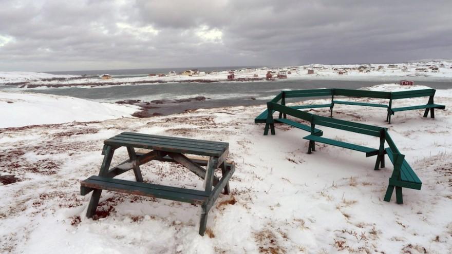 Fogo public seating by Ineke Hans