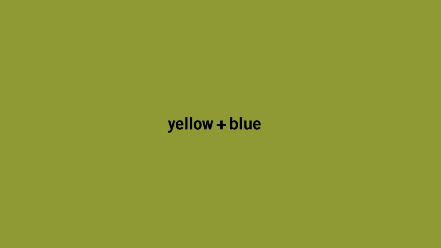 "yellow+blue, a combination of the Swedish flag's colour poster designed for the ""This Is How I Do It"" exhibition by Torsten and Wanja Söderberg Prize winner Hjalti Karlsson."