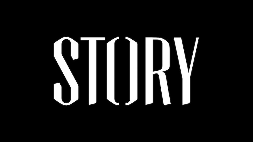 Story identity and logo by Stefan Sagmeister.